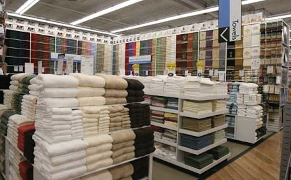 Lynova towels are not found in retail stores