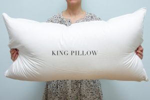 buying king pillows is a mistake