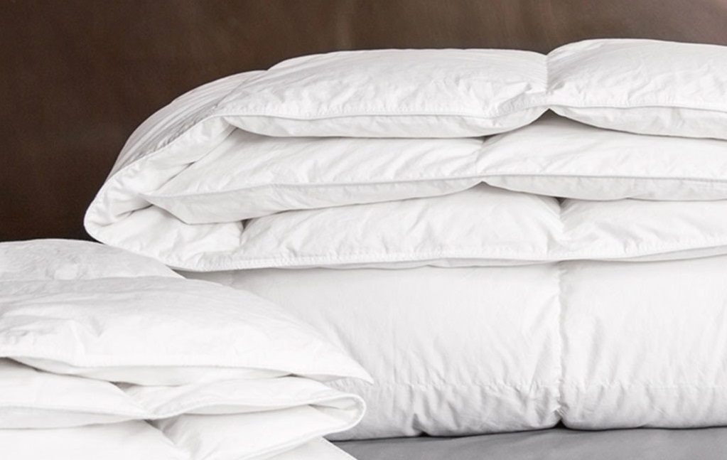 A heavyweight comforter for added warmth