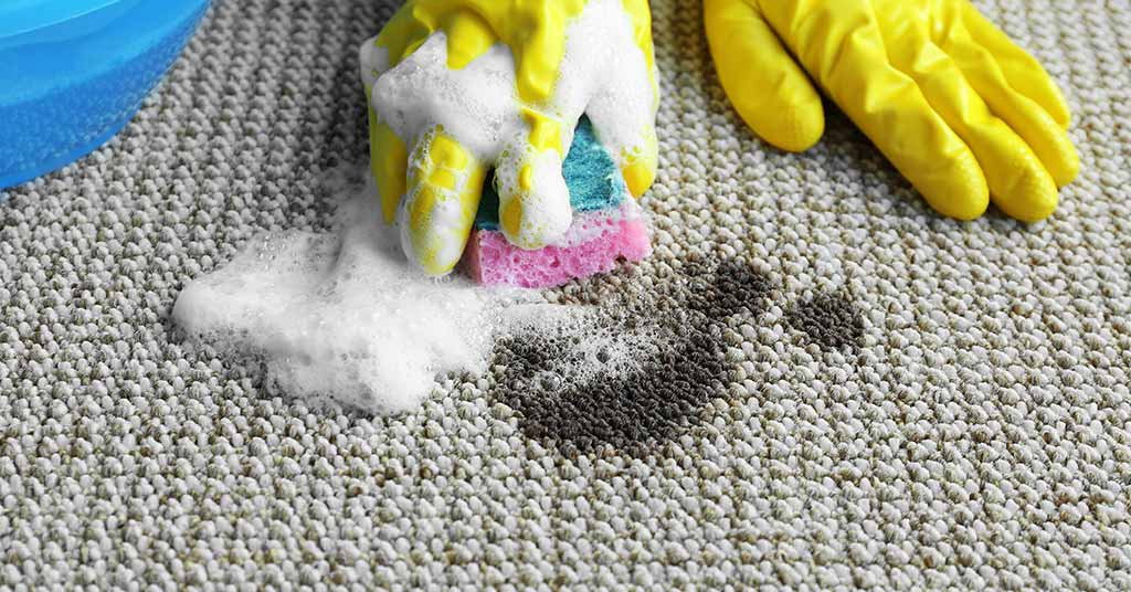 how to remove grease stain from area rug