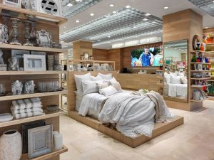 don't purchase store display bedding