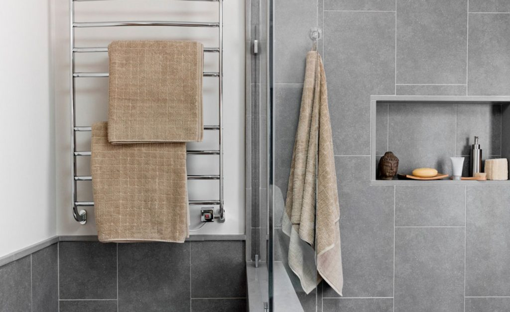 heated towels for your bathroom at home