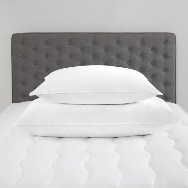 Firm chambered pillows from standard textile