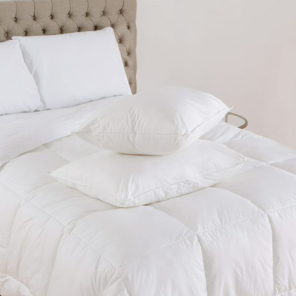 Downlite Enviroloft pillows - which are commonly found in American Hotel bedrooms