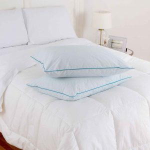 Tommy Bahama pillows with cooling technology to keep pillow surface cool