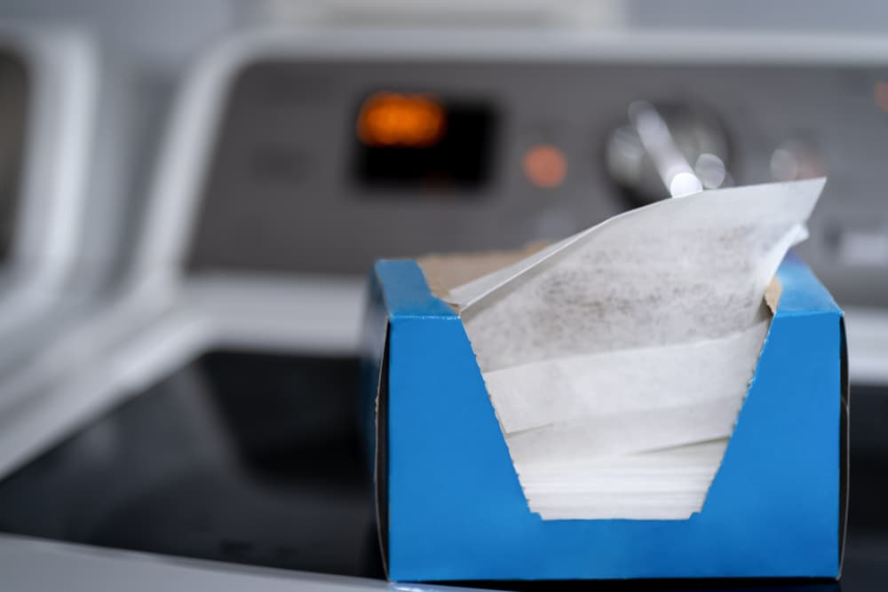 dryer sheets are coated with chemicals