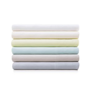 Rayon sheet set made from bamboo in various colors from Malouf