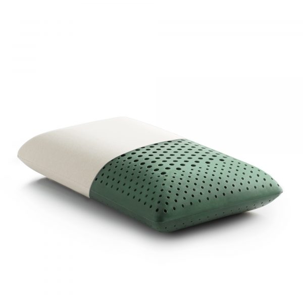 Malouf memory foam pillow infused with CBD oil