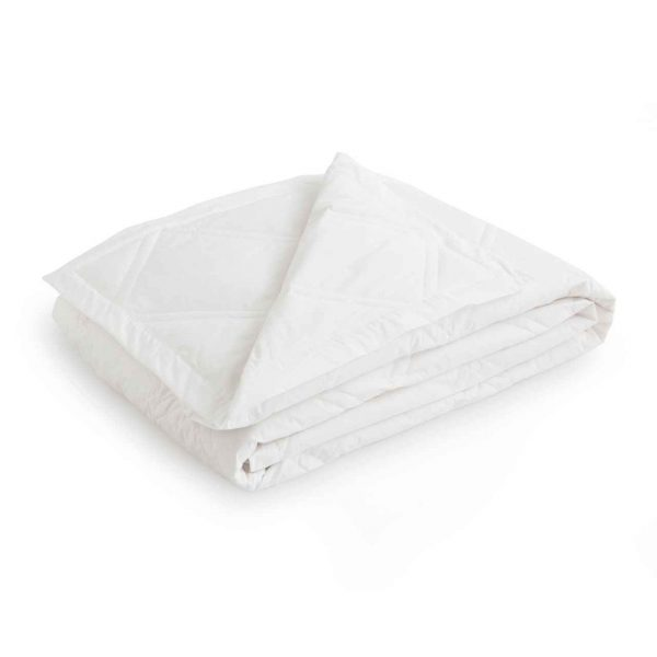 Lightweight blanket from Downlite filled with duck down